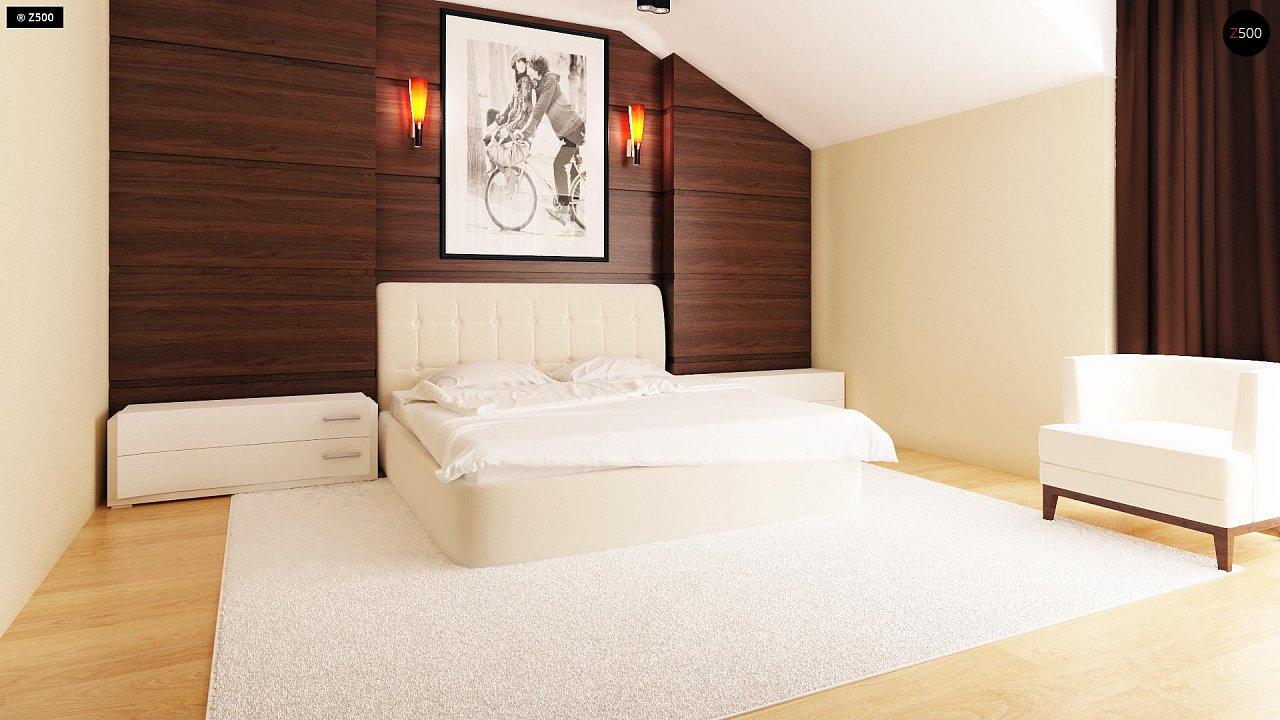 Компактные дома близнецы в современном стиле с уютным интерьером. 9