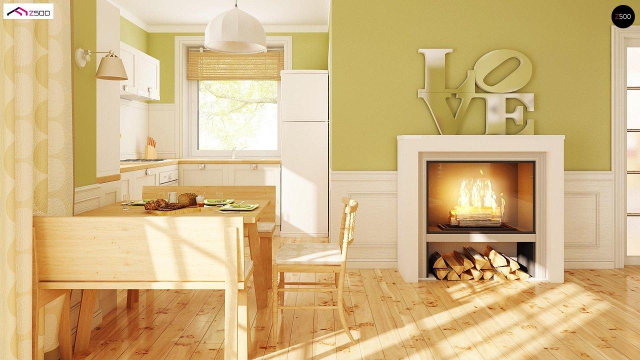 Практичный функциональный дом, недорогой в строительстве и эксплуатации. 5