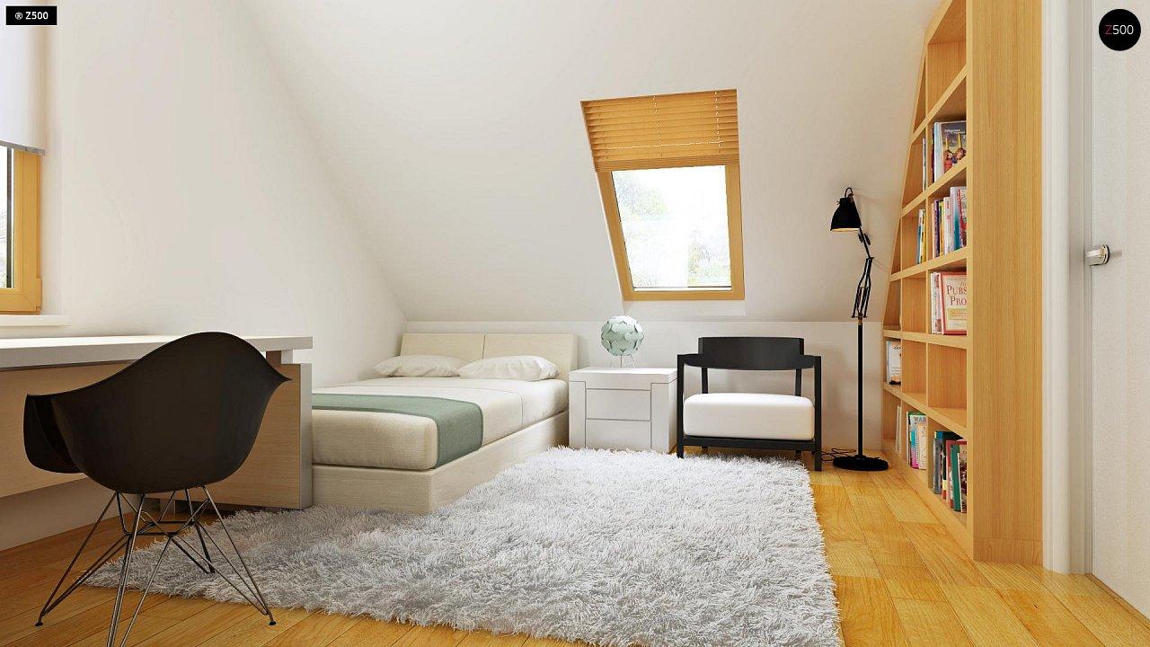 Практичный дом для небольшого участка, простой в строительстве, дешевый в эксплуатации. 19