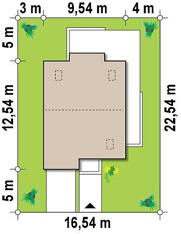 Современный дом с уютным и функциональным интерьером. Интересное сочетание двускатной крыши и кубических форм. план помещений 1