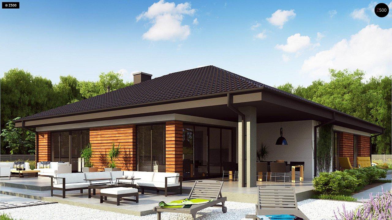 Проект комфортного и функционального одноэтажного дома. - фото 2