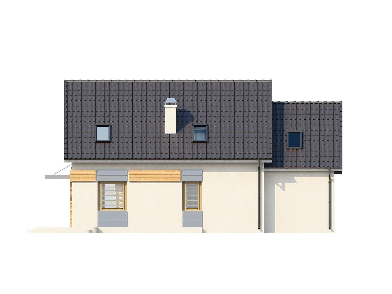 Традиционный практичный дом с современными элементами архитектуры. 9