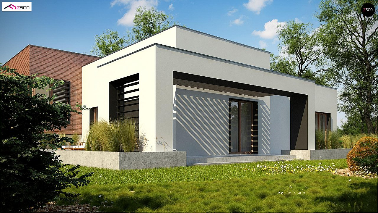 Современный дом минималистичного дизайна с подвалом - фото 6