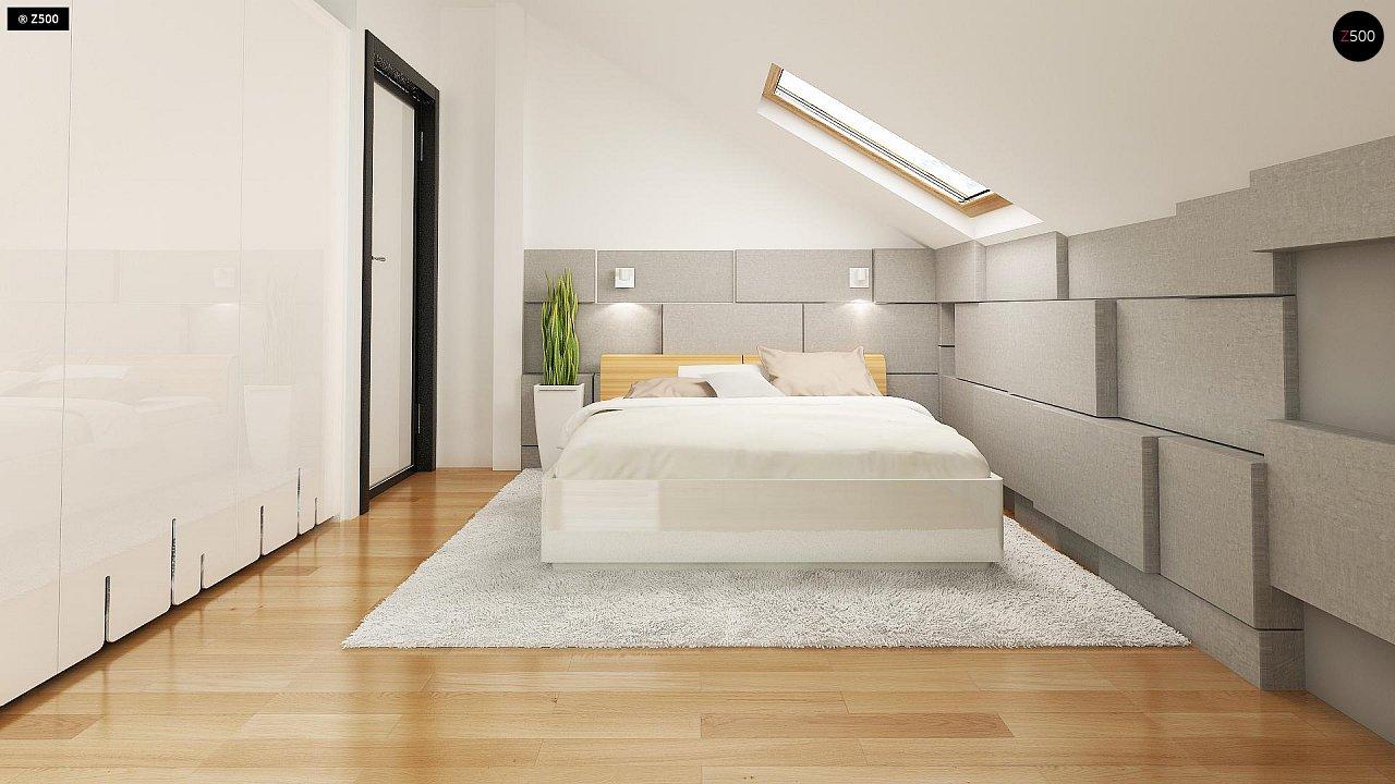 Компактный односемейный дом с дополнительной спальней на первом этаже. 10