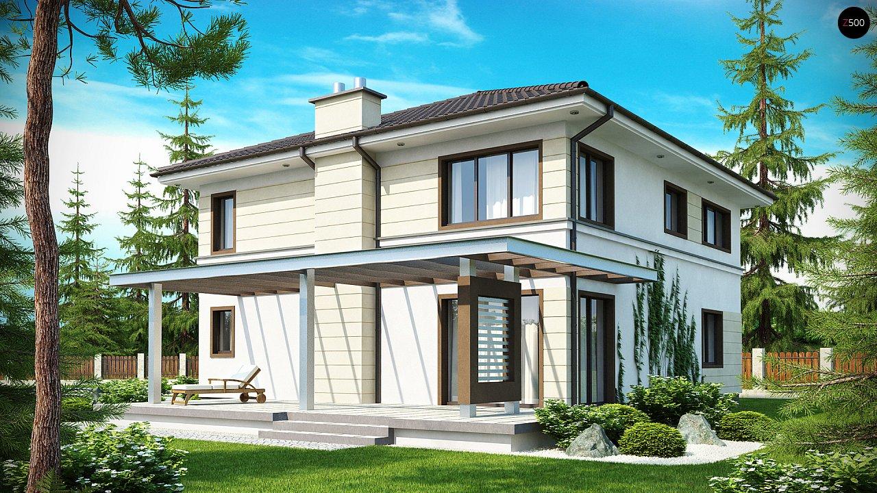 Комфортный двухэтажный дом со вторым светом над гостиной. - фото 2
