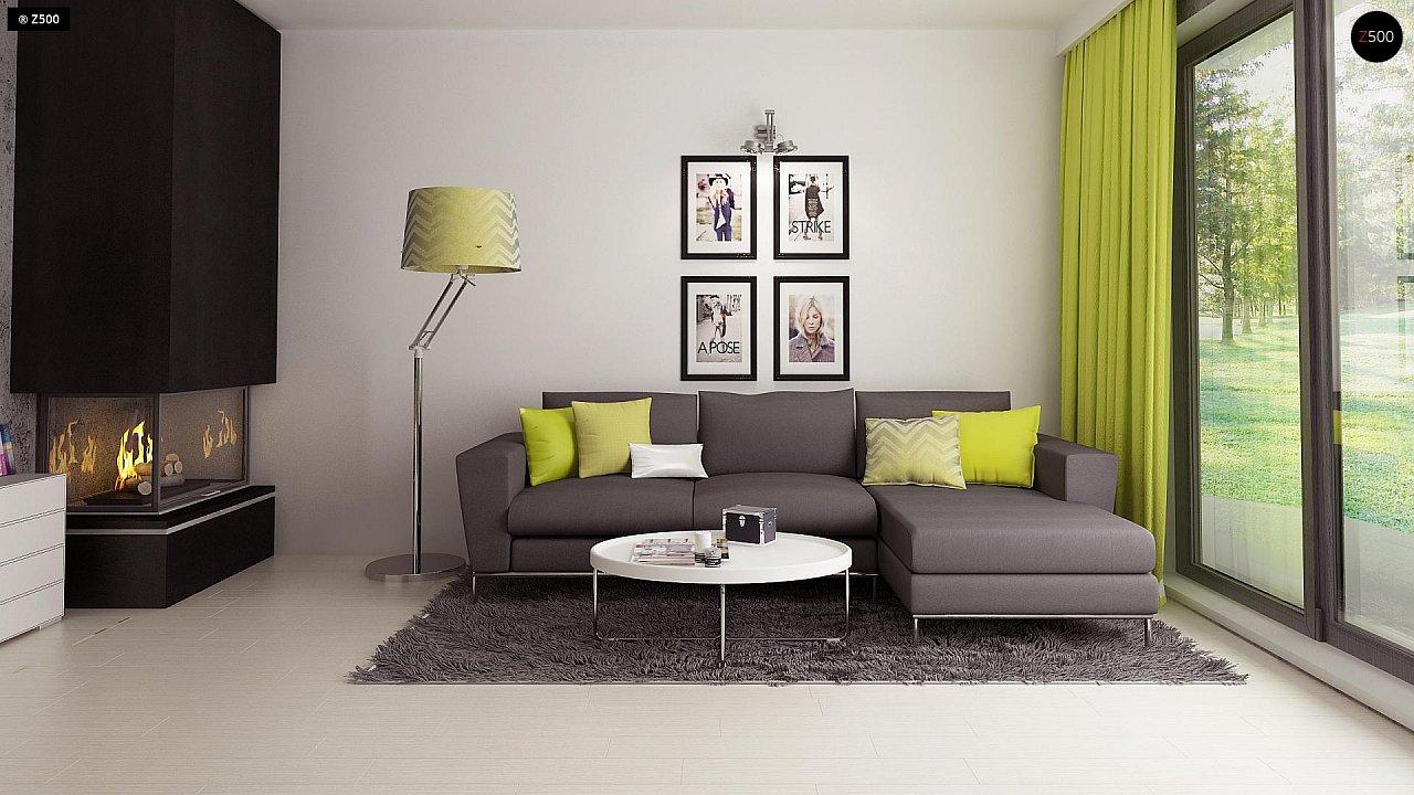 Компактный и удобный дом традиционной формы, подходящий, также, для узкого участка. 5