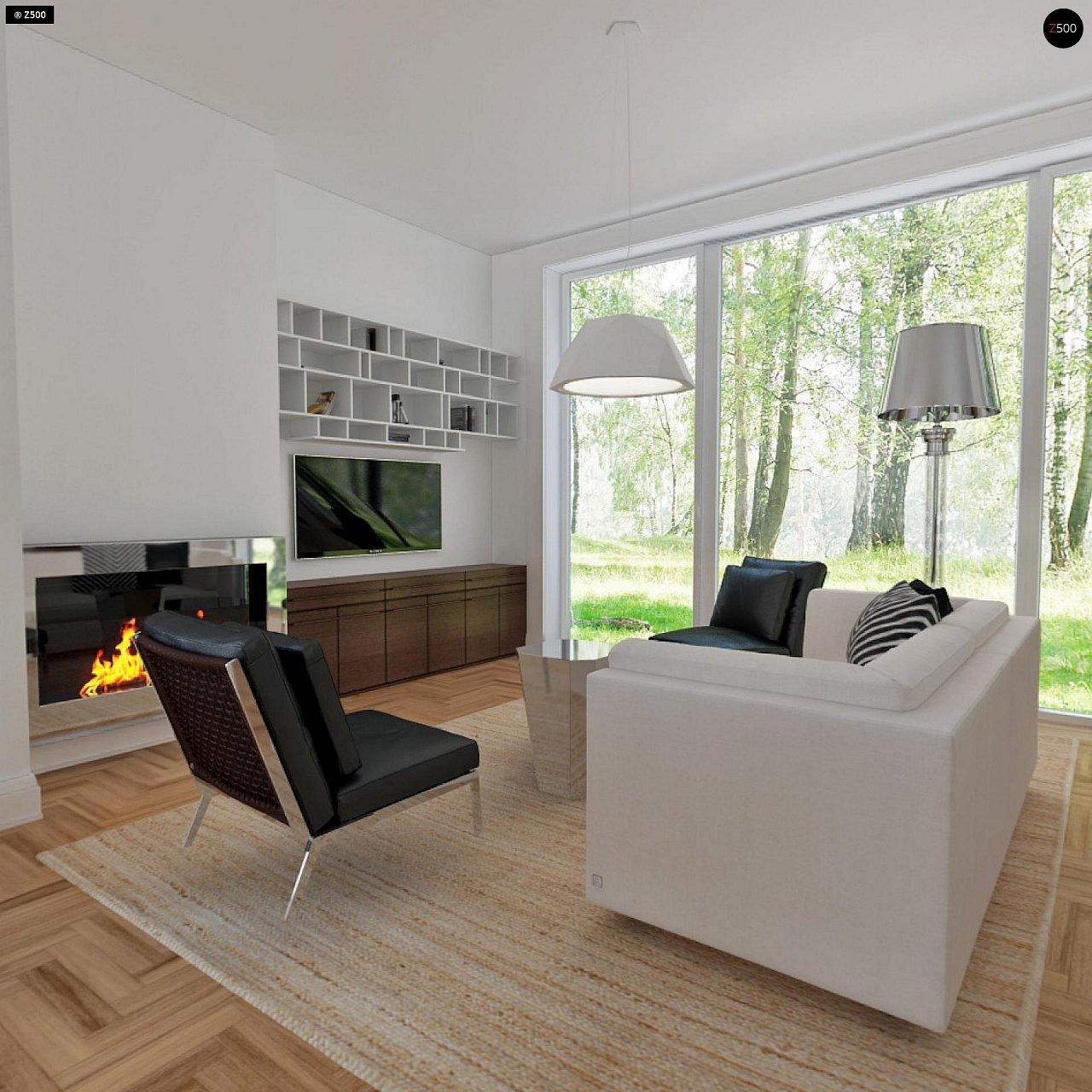 Удобный и красивый дом с красивым окном во фронтоне. 8
