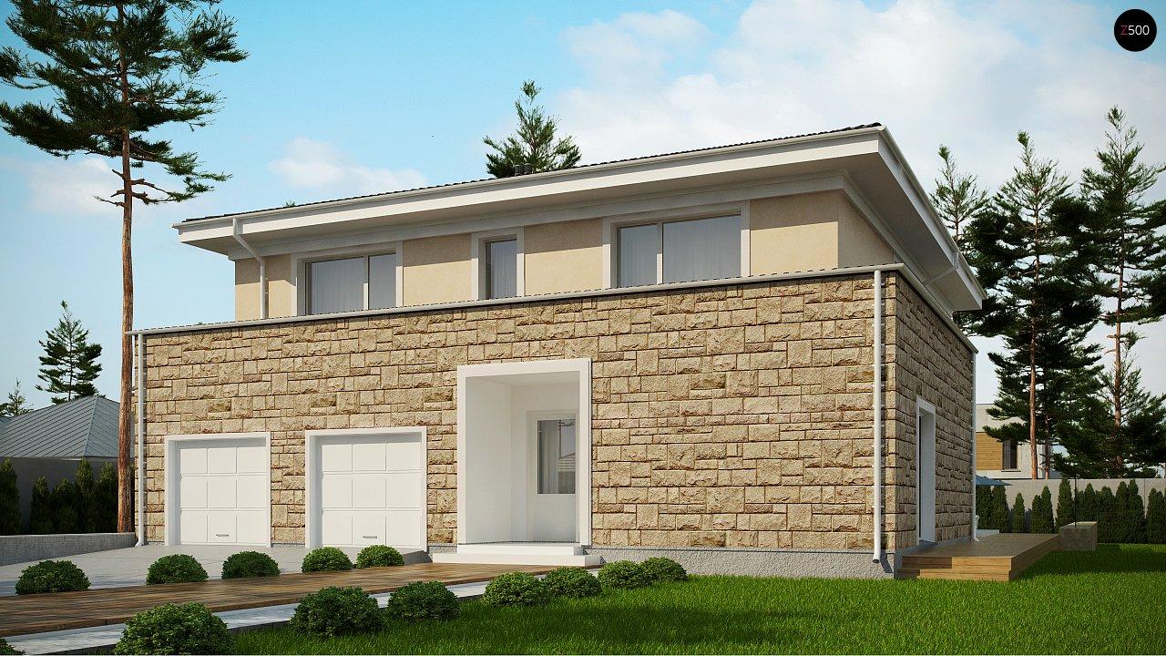 Проект комфортной двухэтажной виллы в традиционном стиле. 1