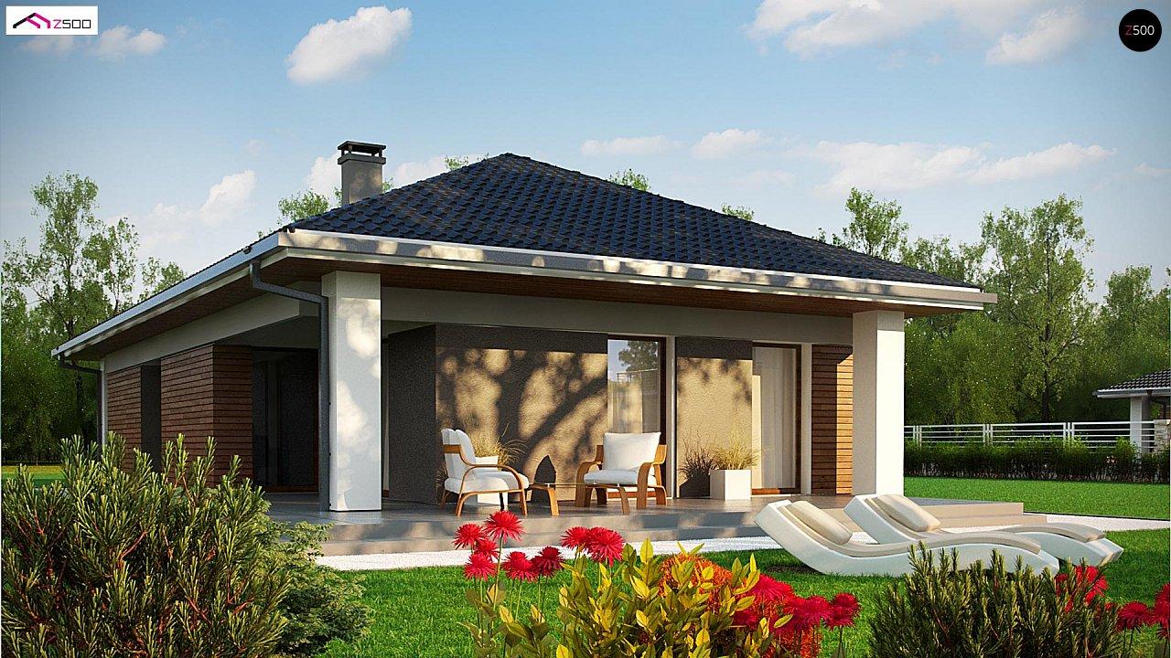 Одноэтажный дом в традиционном стиле с просторной гостиной - фото 5