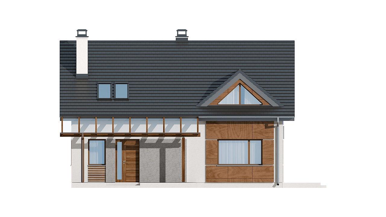Традиционный дом с современными элементами архитектуры. - фото 21