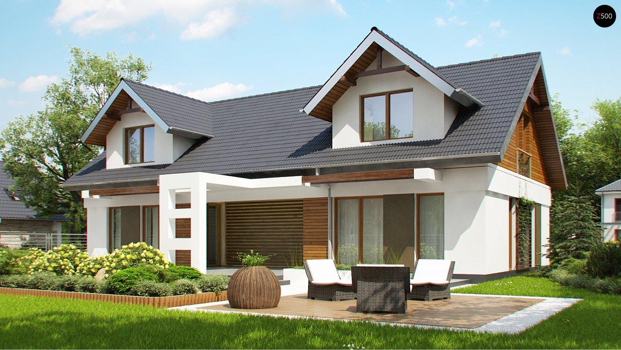 Практичный двухквартирный дом с общими входом и техническим помещением. 5