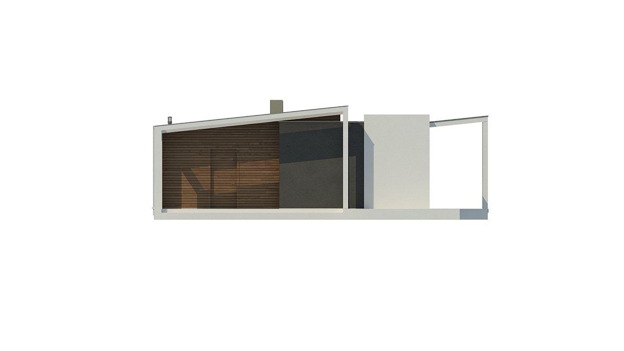 Проект современного дома в стиле хай-тек с двумя спальнями. - фото 21