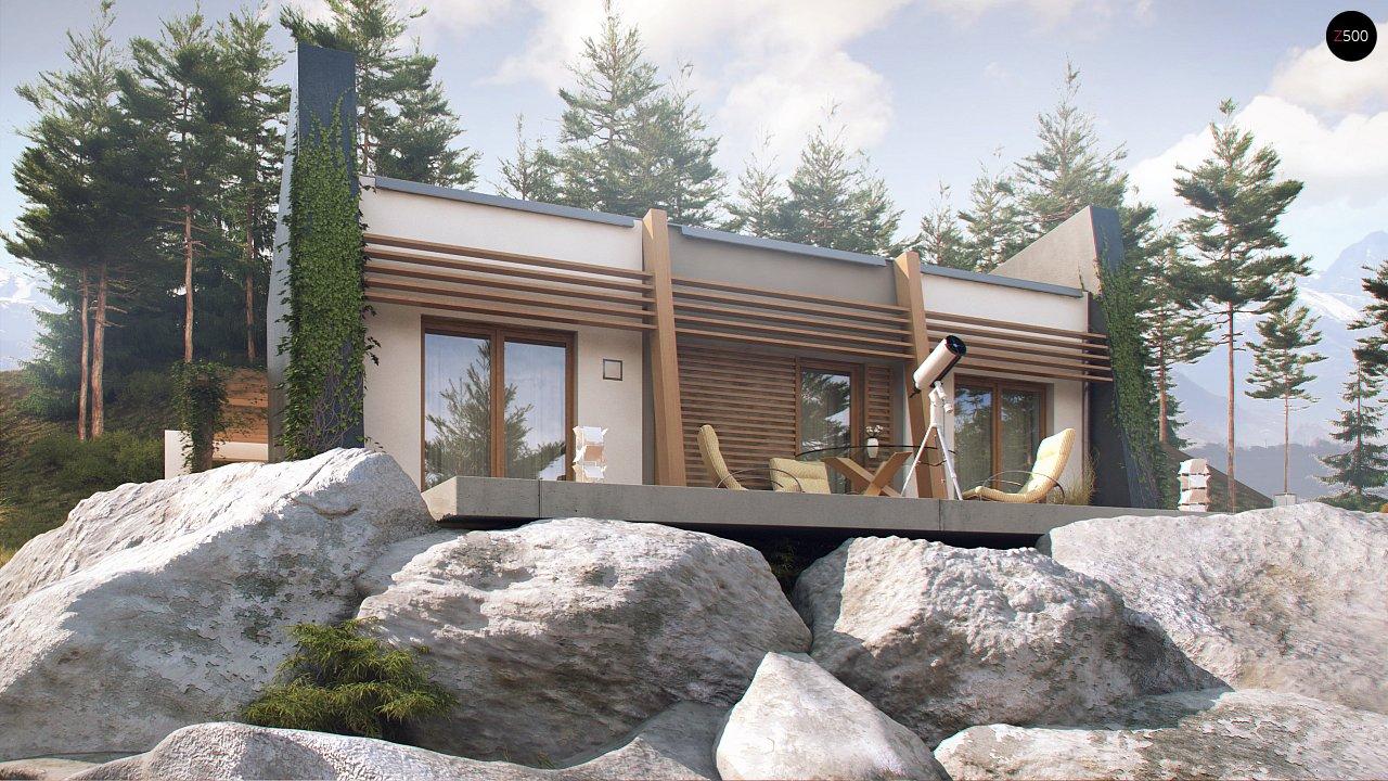 Одноэтажный дом исключительного современного дизайна. - фото 6