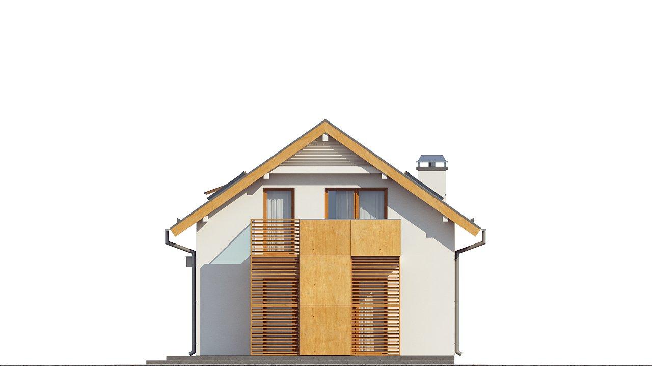 Практичный и уютный дом, идеально подходящий для вытянутого участка. 16