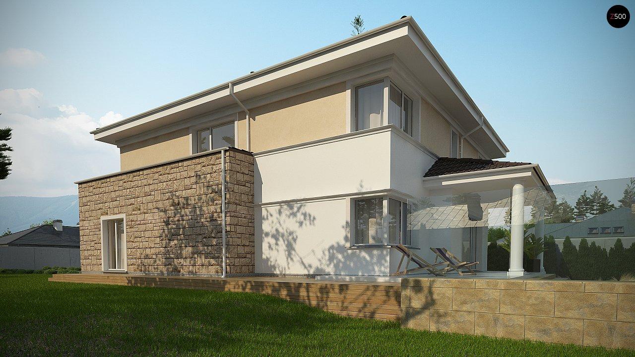 Проект комфортной двухэтажной виллы в традиционном стиле. 5