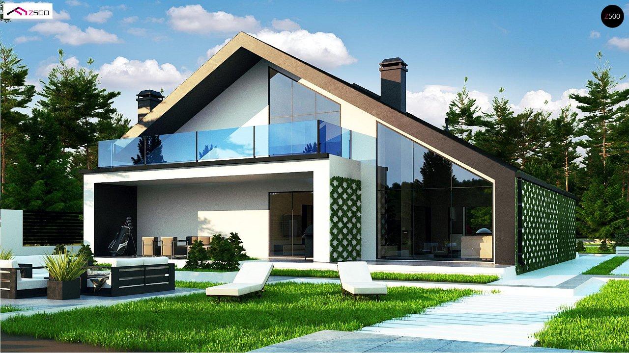 Современный мансардный дом со вторым светом - фото 3