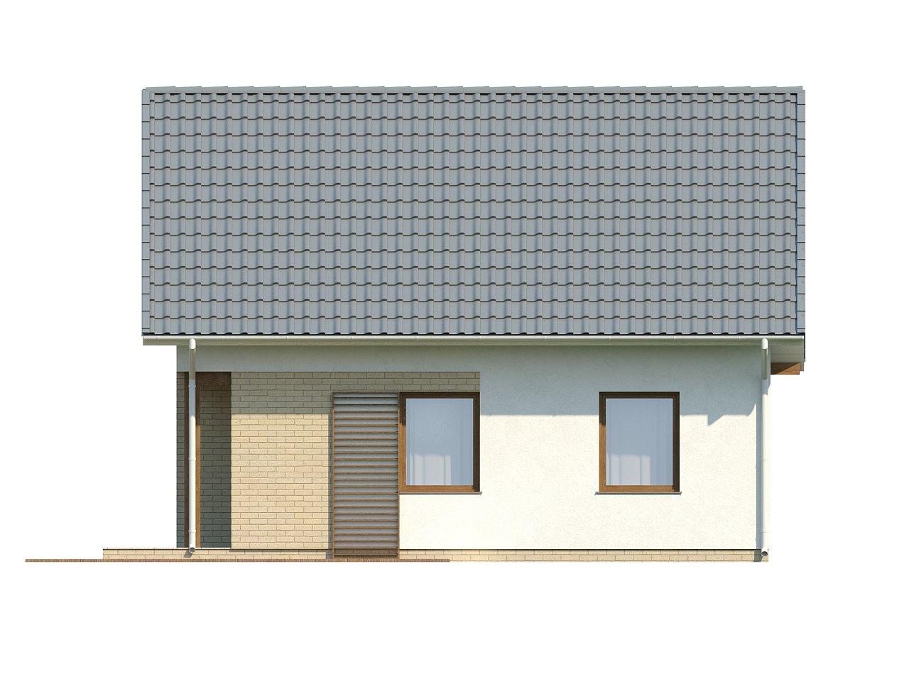 Практичный функциональный дом, недорогой в строительстве и эксплуатации. 15