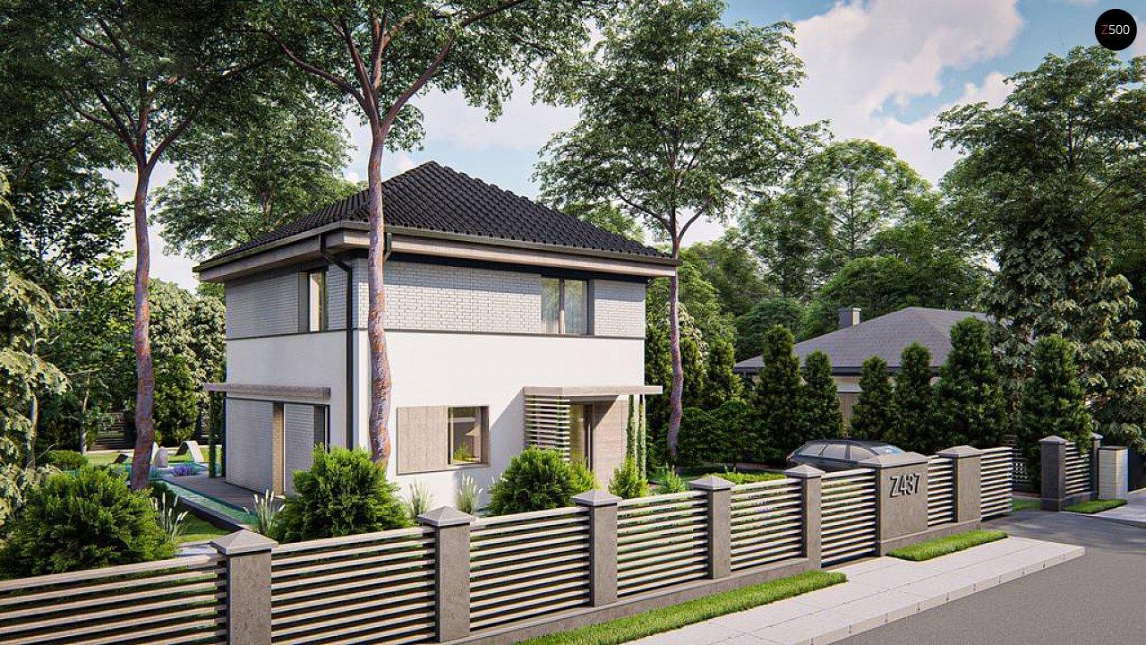 Функциональный двухэтажный дом 2