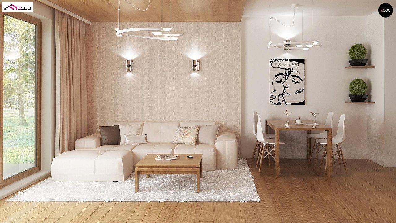 Выгодный и простой в строительстве дом полезной площадью 100 м2. 3