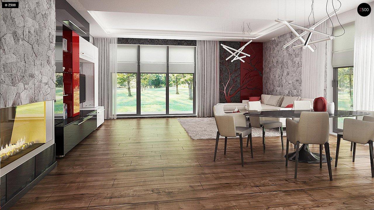 Проект стильного одноэтажного дома с функциональной планировкой - фото 9