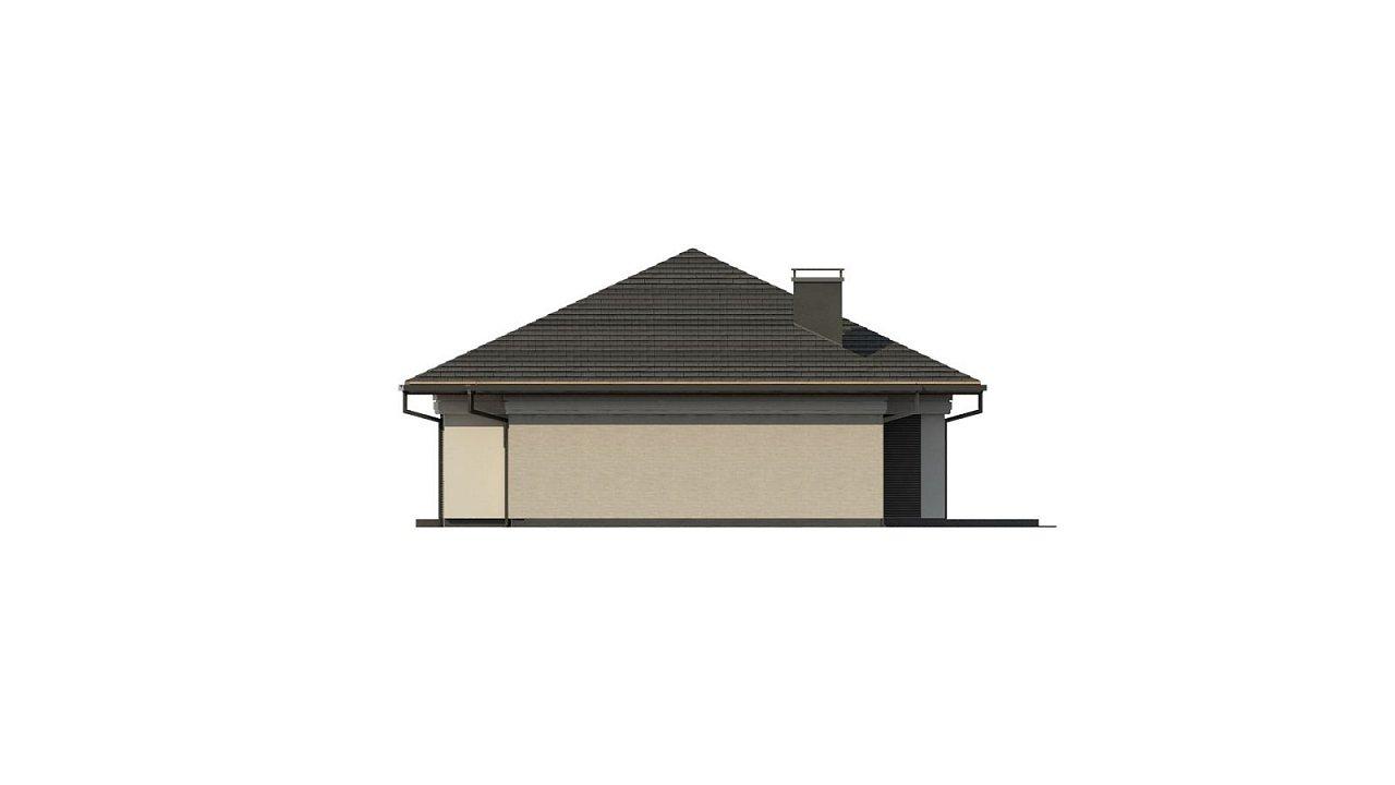 Прекрасный одноэтажный дом в современном стиле и гаражом на одну машину. - фото 10