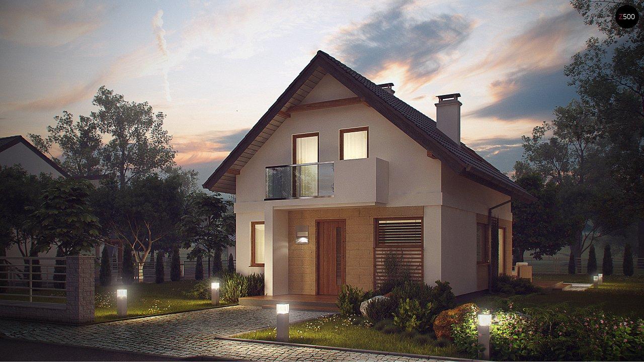 Аккуратный, практичный дом, также для узкого участка. 1