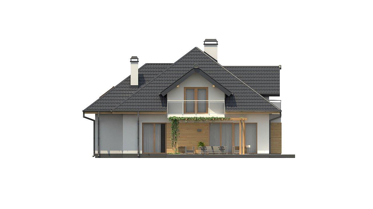 Версия проекта Z270 с альтернативной планировкой мансардного этажа. 21