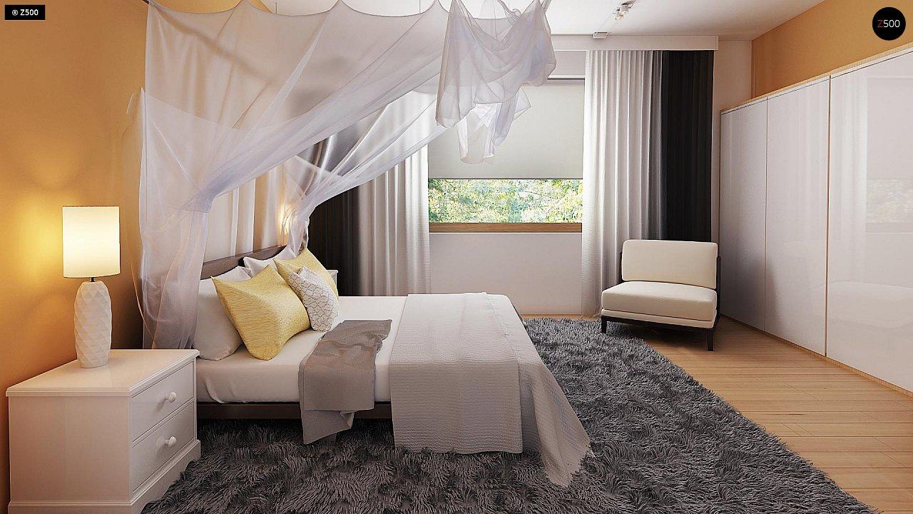 Экономичный в реализации одноэтажный дом с просторной гостиной и двумя спальнями. 8