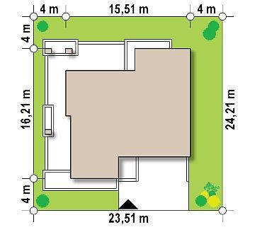 Современный дом минималистичного дизайна с подвалом план помещений 1