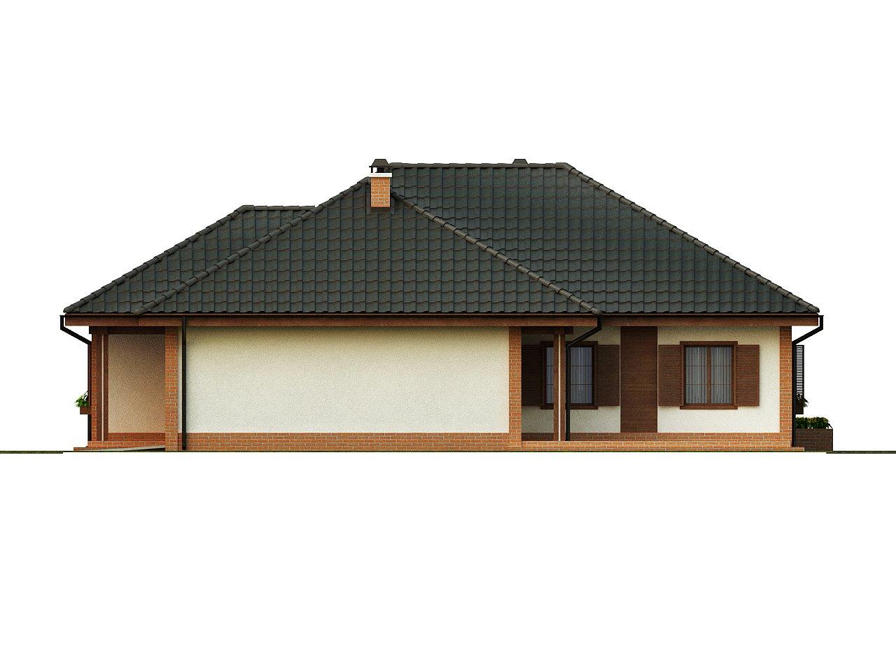 Просторный комфортный одноэтажный дом с гаражом для двух машин. - фото 6