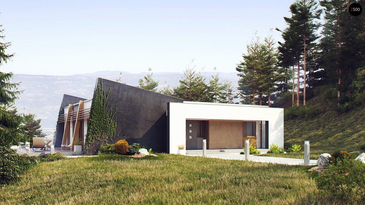 Одноэтажный дом исключительного современного дизайна. 1