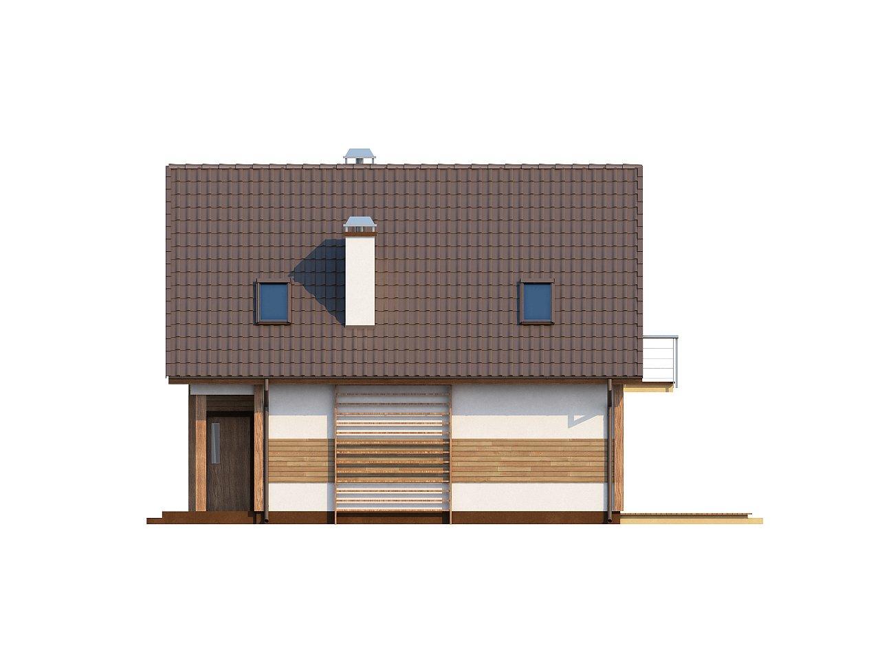 Предложение выгодного и практичного дома, подходящего для удлиненного или, наоборот, неглубокого участка. 6