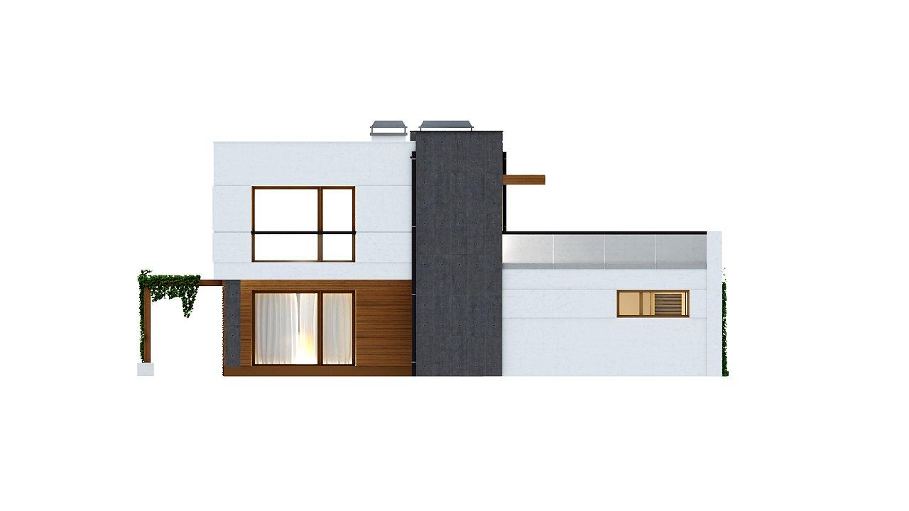 Комфортный современный дом с гаражом для двух авто и обширной террасой на втором этаже. - фото 23