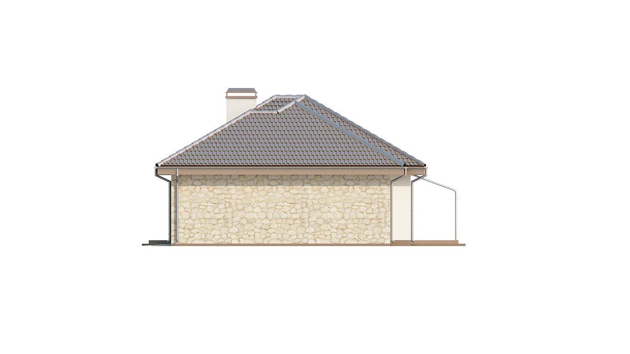 Функциональный удобный дом с гаражом на два автомобиля и большим хозяйственным помещением. - фото 5