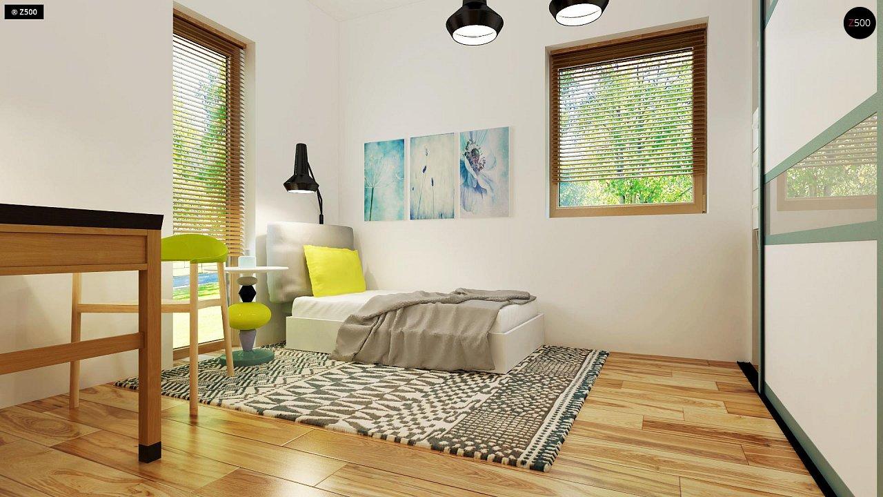 Небольшой дом из газобетона в стиле хай-тек — элегантный, практичный и экономичный. - фото 18