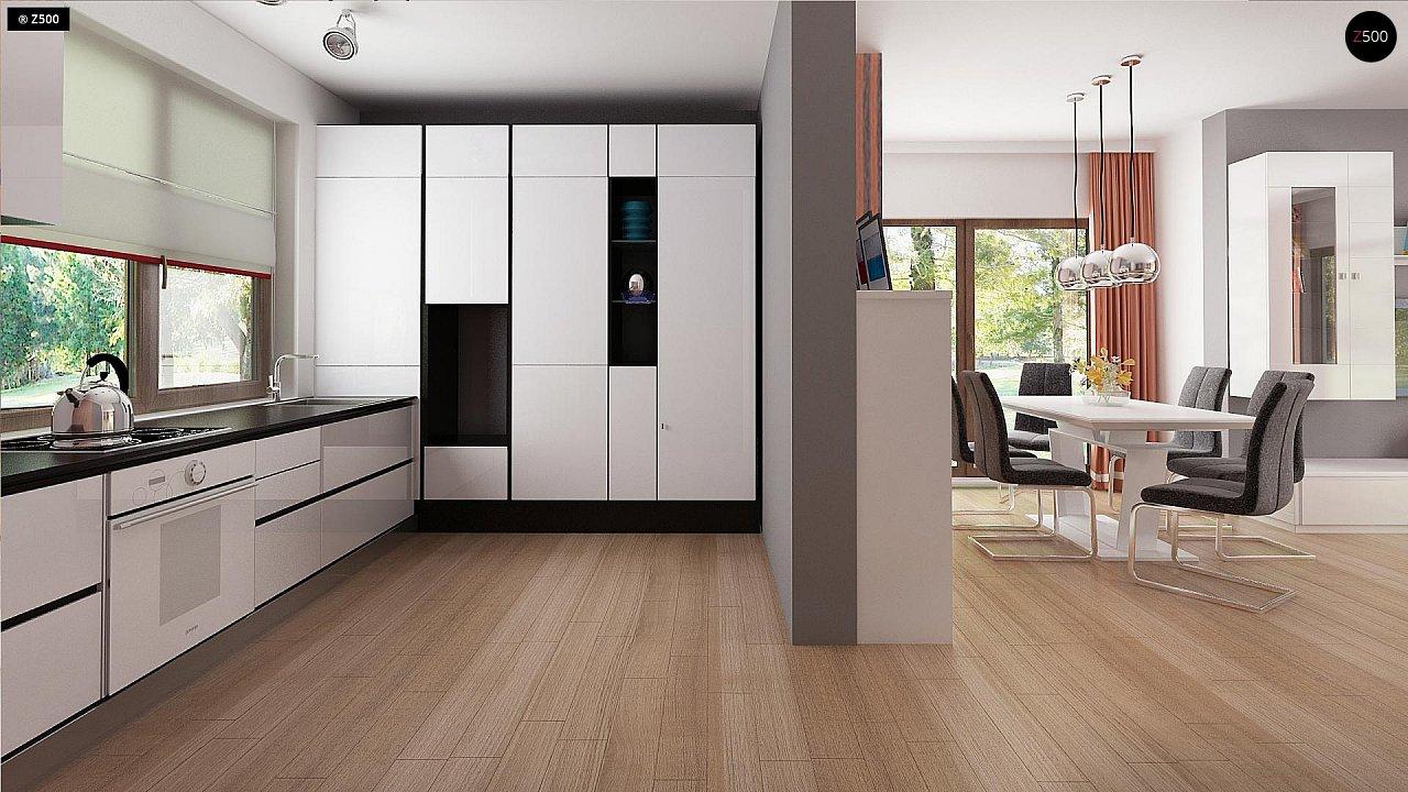 Стильный современный дом с пятью спальнями и гаражом. 9