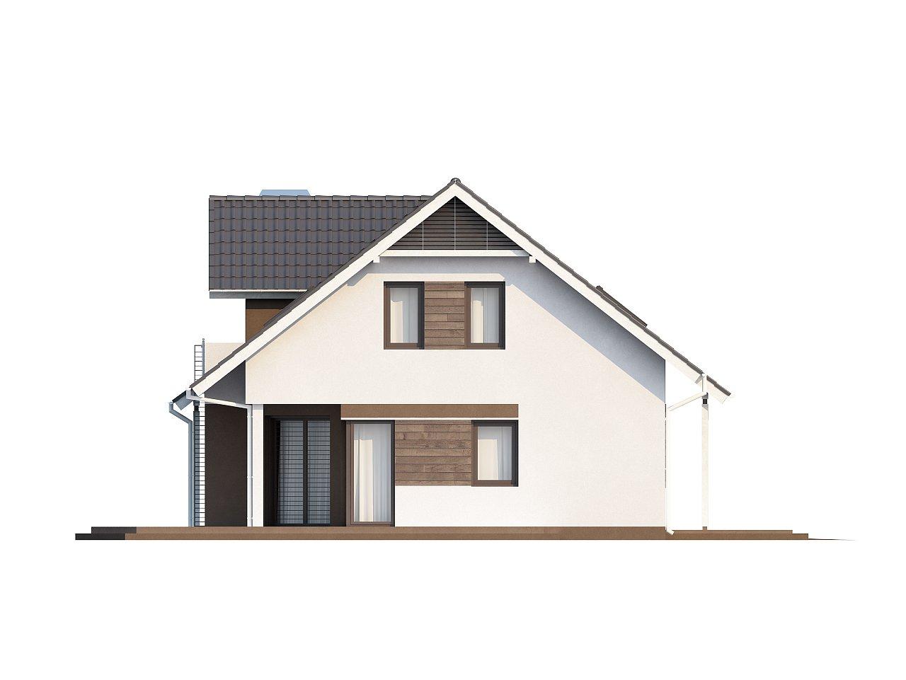 Комфортабельный дом со встроенным гаражом, угловой террасой и кабинетом на первом этаже. - фото 4