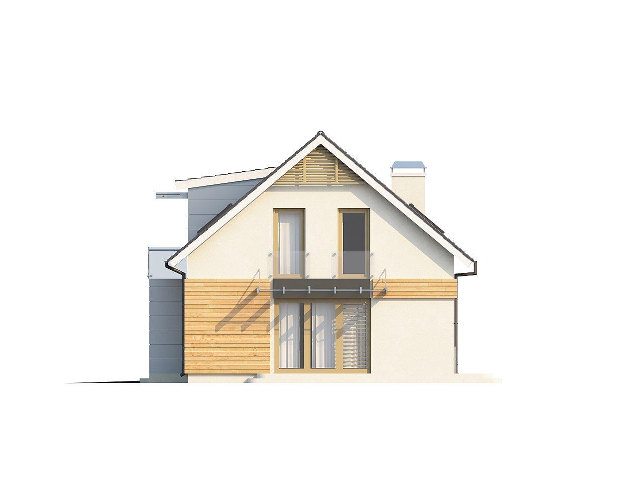 Проект дома с гаражом, с возможностью его использования в качестве двухсемейного. 6
