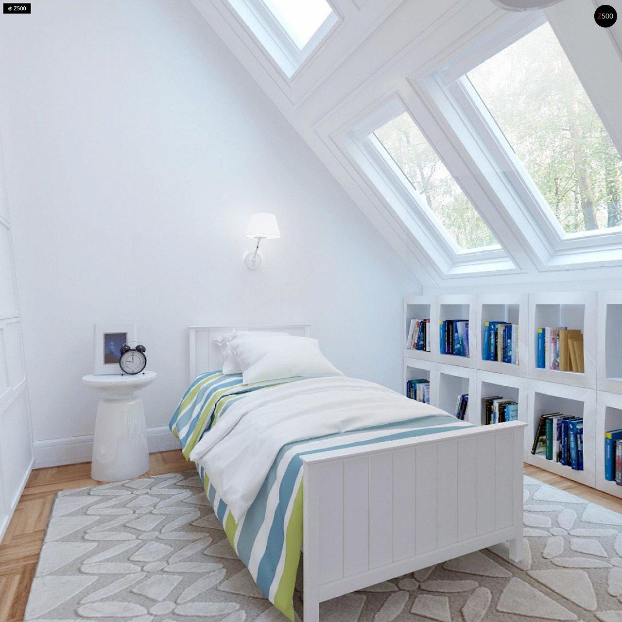Удобный и красивый дом с красивым окном во фронтоне. 12