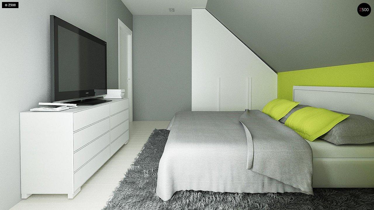Компактный и удобный дом традиционной формы, подходящий, также, для узкого участка. 11