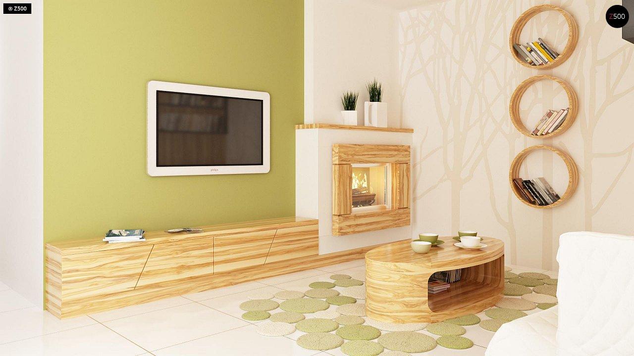 Современный дом с уютным и функциональным интерьером. Интересное сочетание двускатной крыши и кубических форм. - фото 7