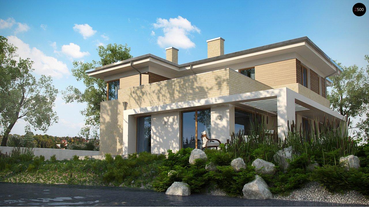 Современный комфортный двухэтажный дом с баней - фото 6