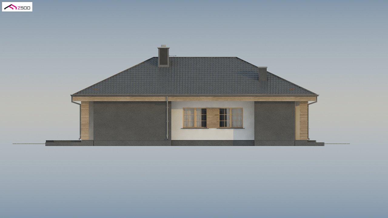 Красивый одноэтажный дом с удобной планировкой 12