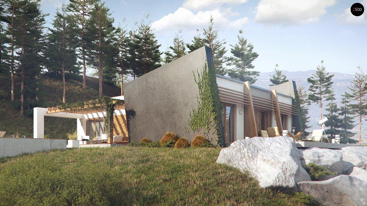 Одноэтажный дом исключительного современного дизайна. - фото 5