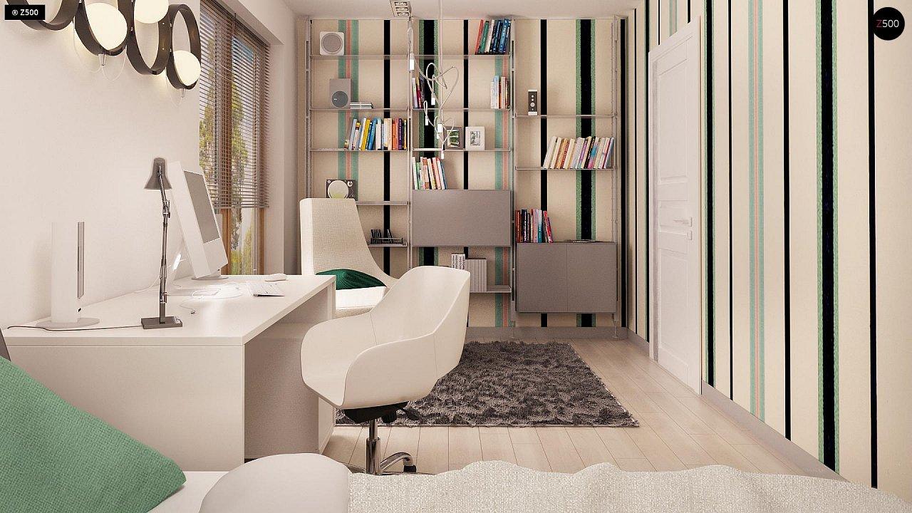 Дом традиционной формы с современными элементами в архитектуре. Уютный и функциональный интерьер. - фото 10