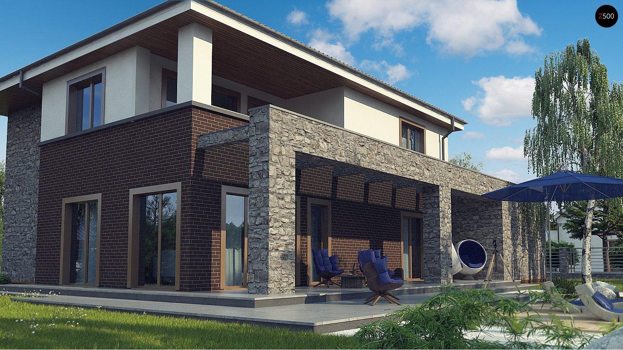 Проект дома с сауной в традиционном стиле - фото 4
