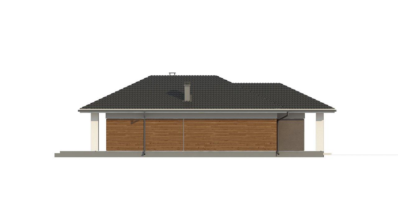Одноэтажный дом в традиционном стиле с просторной гостиной - фото 7