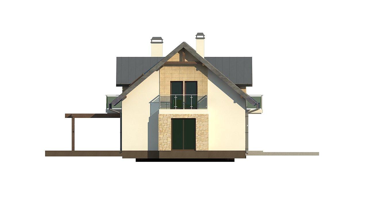 Стильный современный дом с пятью спальнями и гаражом. 16