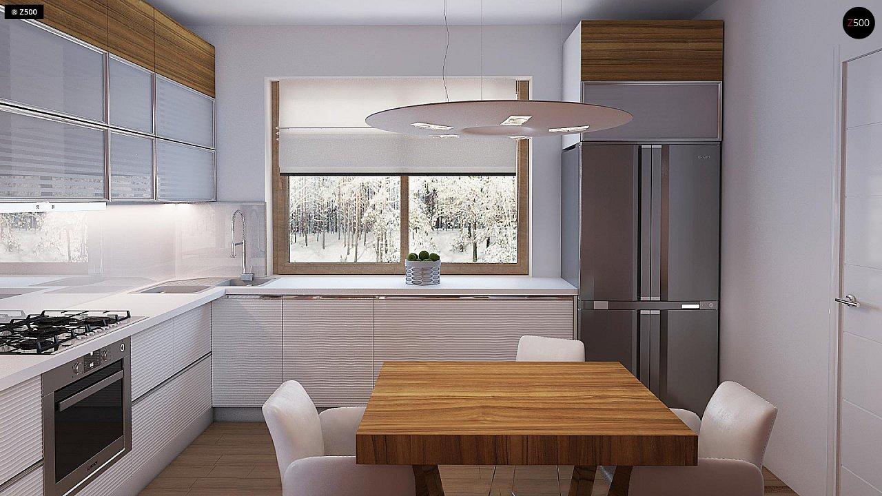 Компактный, уютный одноэтажный дом с двускатной крышей. 11