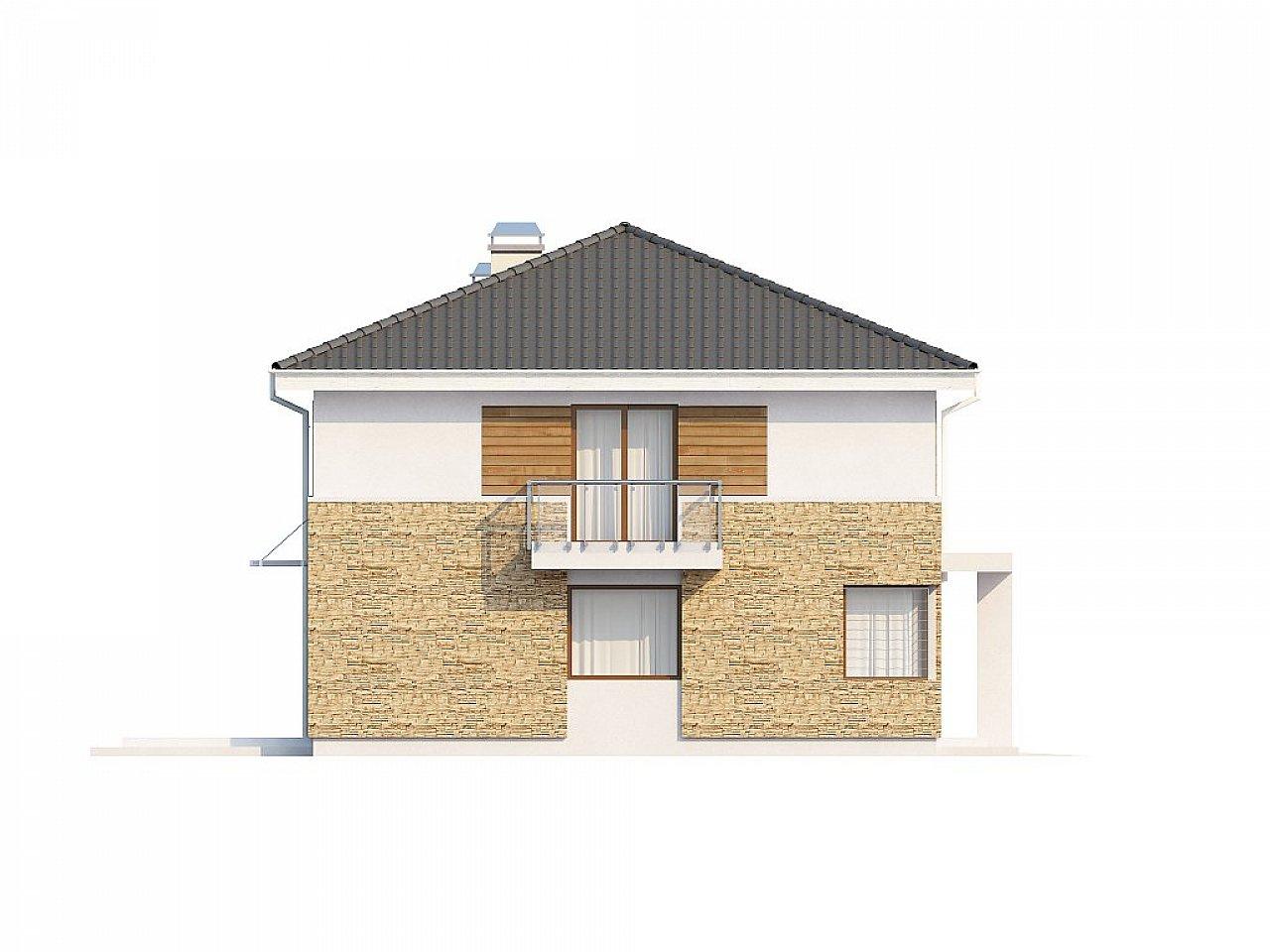 Двухэтажный современный дом под сейсмику 7